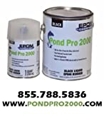 Pond Pro 2000 Quart Black