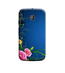 Ebby Premium Printed Back Case Cover With Full protection For Motorola Moto E (2nd gen) (Designer Case)