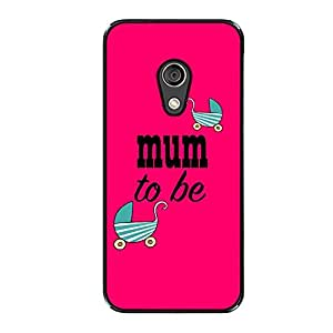 Vibhar printed case back cover for Motorola Moto G (2nd Gen) MumBe