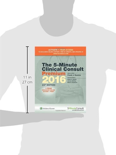 The 5-Minute Clinical Consult Premium 2016 (The 5-Minute Consult Series)
