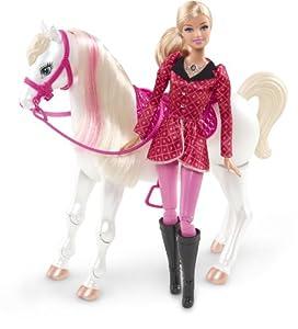 Mattel Y6858 - Barbie und ihre Schwestern im Pferdeglück, Puppe mit Pferd
