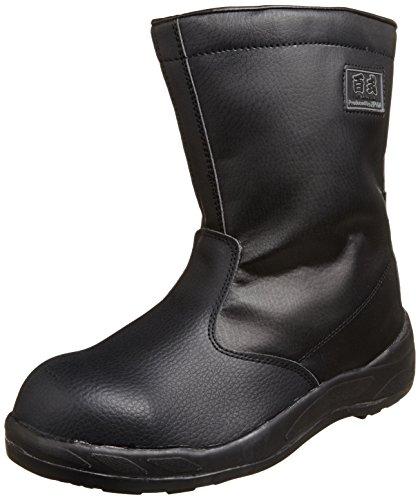 [ジプロア] ZIPLOA 現場半長靴 HZ-704 13(ブラック/26.5)