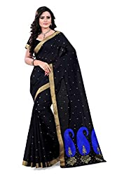 Amigos Fashion Women's Cotton Saree (AF-18)
