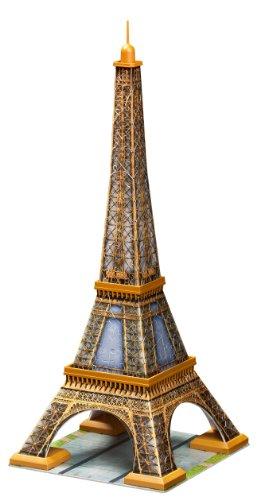 Ravensburger - 12556 - Puzzle 3D - Puzzleball  Building 216 Pièces - La Tour Eiffel