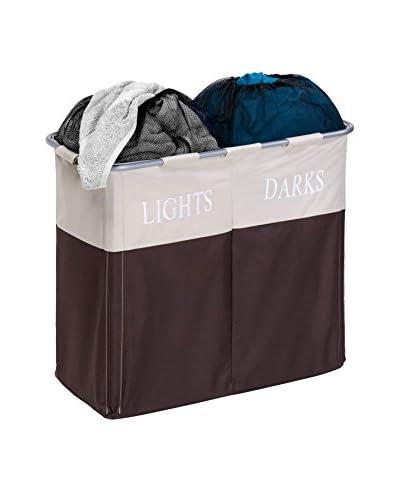 Honey-Can-Do Dual Compartment Light/Dark Hamper
