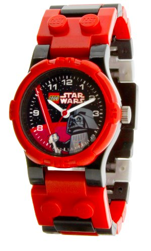Lego Kids Star Wars Darth Vader Watch 9002908 With Mini Figure