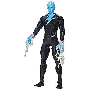 "Spider-Man Marvel Ultimate Titan Hero Series Electro Figure, 12"""