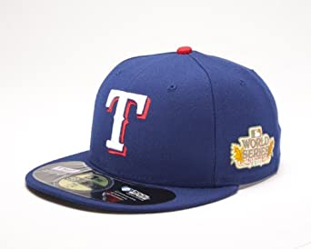 MLB Texas Rangers 2011 Youth World Series Onfield Side Patch Cap by New Era