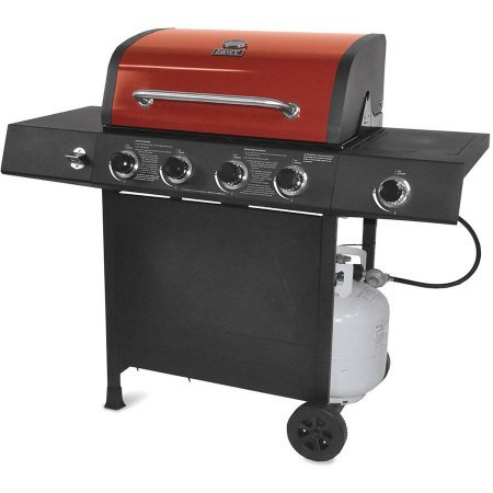 4-Burner Rs W/S Burn Gas Grill, 4 #439 SS Tube burners with a total of 48,000 BTU (Jenn Air Natural Gas Conversion compare prices)