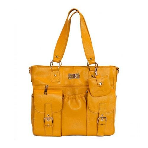 Shutterbag Journey Leather Camera Bag - Goldenrod Yellow front-1061706