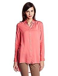 Lee Women's Tunic Shirt (LESH9107_Calypso Coral_Medium)