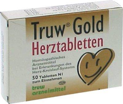 Truw Gold Herztabletten, 50 St