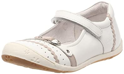 Aster June, Chaussures basses fille - Blanc/argile, 24 EU