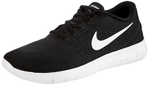 Nike Free Rn Scarpe Da Corsa, Uomo, Nero (Black/White/Anthracite), 42.5 EU