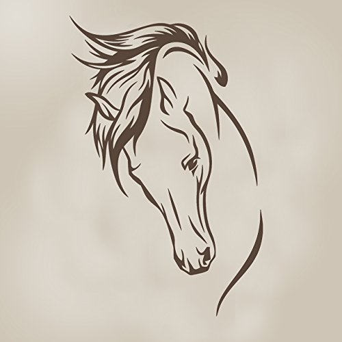 Sweet Potato Happy Trails Vinyl Decal, Stallion