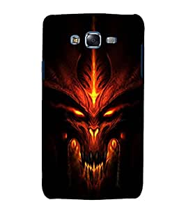 printtech Diablo Demon Game Face Back Case Cover for Samsung Galaxy J7 (2016 ) /Versions: J710F, J710FN (EMEA); J710M (LATAM); J710H (South Africa, Pakistan, Vietnam) Also known as Samsung Galaxy J7 (2016) Duos with dual-SIM card slots Asia/China model with 1080p display and 3 GB RAM