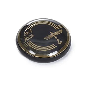 B-17 Horn Button Paperweight