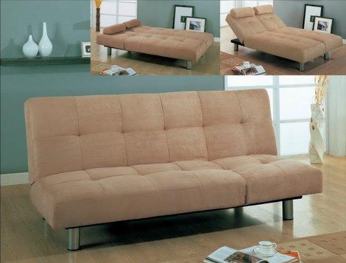 Black friday microfiber trio function sofa bed cheap for Cheap black sofa bed