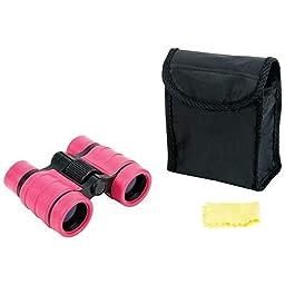 Pink Compact 4x30 Binoculars Great for Hunting, Camping, Bird Watching, Outdoors