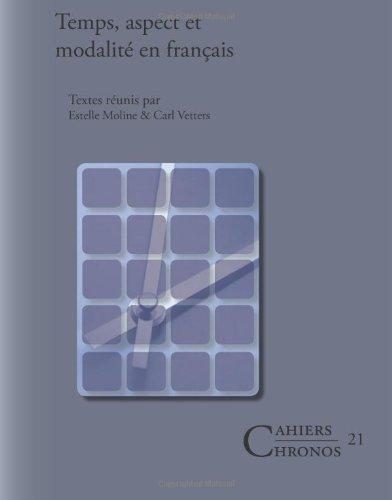Temps aspect et modalité en français