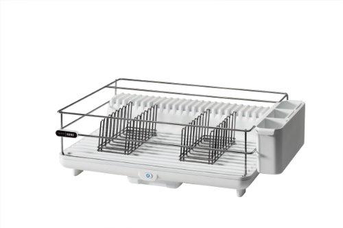 Bon Home DDR100WH Heat & Dry Dish Rack