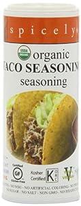 Spicely Organic Taco Seasoning - Ecoshaker