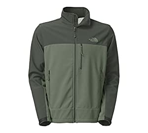 The North Face Mens Apex Bionic Windproof Jacket (X-large, Laurel Wreath Green/Spruce Green)