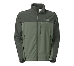 The North Face Mens Apex Bionic Windproof Jacket (Medium, Laurel Wreath Green/Spruce Green)