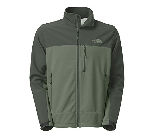 The North Face Mens Apex Bionic Windproof Jacket (Medium, Laurel Wreath Green/Spruce Green)