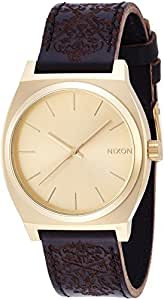 [ニクソン]NIXON TIME TELLER: GOLD/ORNATE NA0451882-00  【正規輸入品】