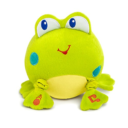 Bright Starts Musical Vibes Plush Toy, Froggie