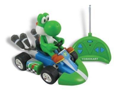 GOLDIE Educational Products - Nintendo Super Mario Yoshi Mini Radio Control Kart Remote Contol Car - NINTENDO SUPER MARIO YOSHI MINI RADIO CONTROL KART REMOTE CONTOL CAR by Nintendo
