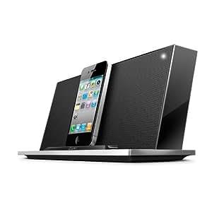 iLuv iMM288- Haut-Parleur Stereo avec Station d'Accueil pour iPod/iPhone