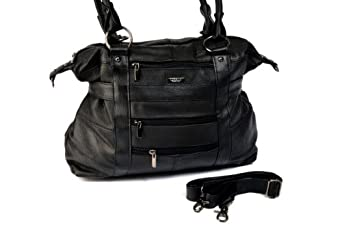 Black Long Strap Shoulder Bag 108