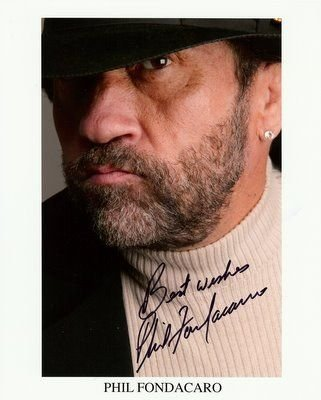 phil fondacaro signed 8x10 photo star wars ewok signed