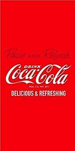 CTI 39847 Plaid Polaire 110 x 140 cm Coca Cola Enjoy