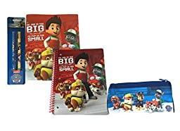 Paw Patrol Notebook and Folder Bundle