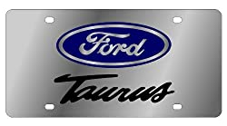 Ford Taurus Stainless Steel License Plate