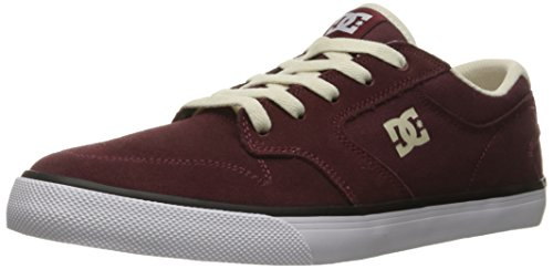 DC Men's Argosy Vulc Skate Shoe, Burgundy, 11 M US