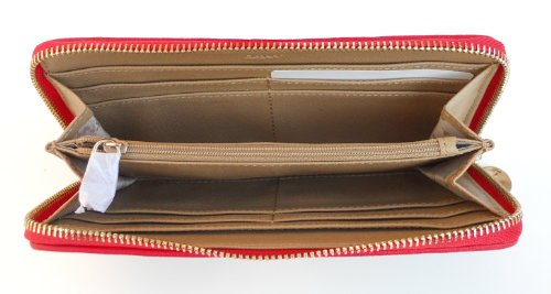 DKNYDKNY Wallet, Town & Country with Wintage Chino-Red