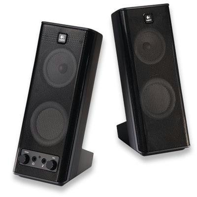 Nelogitech Inc X-140 Speaker System 2.0-channel 5w Rms/10w Pmpo Dynamic Realtime Bass Equalisation