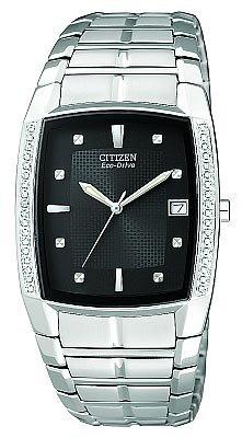 Citizen Men's BM6640-57E Eco-Drive Diamond Accented Dress Watch