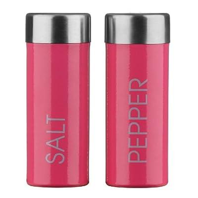PremierHousewares Salt and Pepper Set - Hot Pink by Premier Housewares