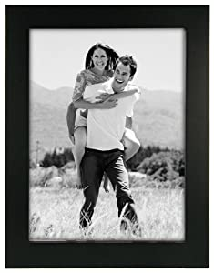 """Linear Black Picture Frame 6x8"""""""