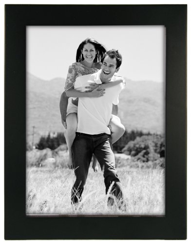 Linear Black Picture Frame 6x8