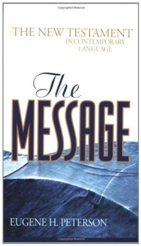 The Message New Testament-MS (Think)