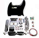 Telecaster Tele Full Guitar Hardware Kit For Modern Humbucker Chrome