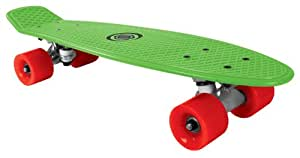 Bored Kids Neon XT Cruiser Skateboard - Neon Green, 58x15cm