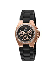 Freelook Women's HA5204CHRG-1 Aquamarina Rose Gold Plated Stainless Steel Watch