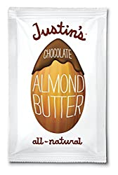 Justin's Almond Butter, Chocolate Squeeze Packs, 1.15 Ounce (Pack of 10)